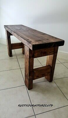 Quality Handmade Garden-Kitchen-Dinning Wooden Bench//Many Colours • 119.99£