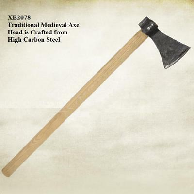 Medieval Utility Axe. Re-enactment Stage & Costume - Get Dressed For Battle • 39.50£