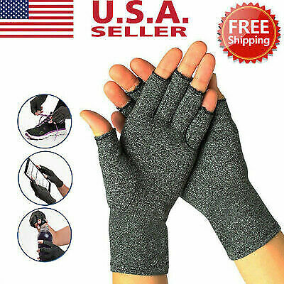 $12.86 • Buy Anti-Arthritis Compression Gloves Health Care For Carpal Tunnel Computer Typing