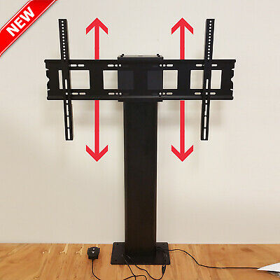 MOTORISED TV STAND • 32 -80  Adjustable Screen Wall Mount Monitor LCD Lift Lower • 99£