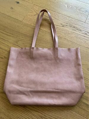 AU22 • Buy Bershka Soft Faux Leather Tan Shopper Tote Bag