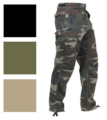 $49.99 • Buy Rothco Vintage M-65 Field Pants Tactical Cargo BDU M65 Combat Army Fatigues