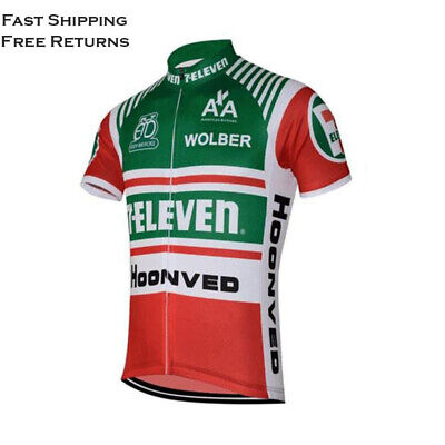 AU39.20 • Buy Retro 1986 7 Eleven Davis Phinney Vintage Cycling Jersey