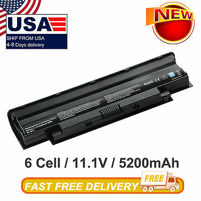 $12.98 • Buy J1KND Replacement Battery For Dell 04YRJH 07XFJJ 4T7JN 9T48V 312-1201 312-0233