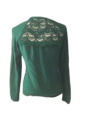 $ CDN35 • Buy Sparrow Size M Anthropologie Cardigan Knit Sweater Green