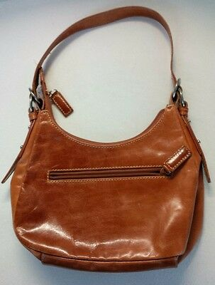 $ CDN34.95 • Buy Danier Small Light Brown Leather Purse Satchel Handbag