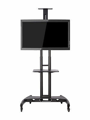 Multi-functional Portable TV Stand, Wheeled Trolley With AV Shelf Adjustable  • 44.99£