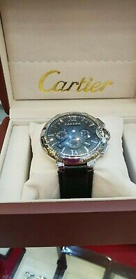 View Details Men's Watch Cartier With Leather Band • 300.00£