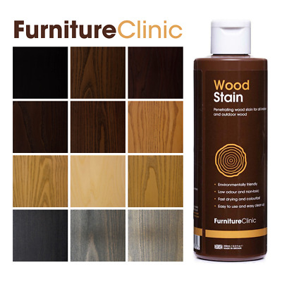 £9.95 • Buy Wood Stain - Many Colours - Fast, Effective Wood Stain For Indoor & Outdoor Wood