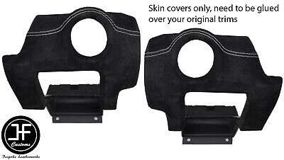 $ CDN171.89 • Buy Grey Stitch 2x Side Vent Panel Suede Covers For Lotus Elise Exige S2 07-13