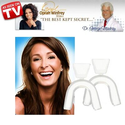 AU7.95 • Buy Teeth Whitening Mouth Trays Dr Georges Tooth Whitener Bleaching Dental Tray E-Z