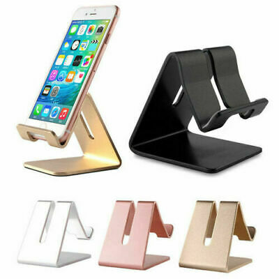 $3.42 • Buy Universal Aluminum Desktop Desk Stand Holder Mount For Cell Phone &Tablet Pad