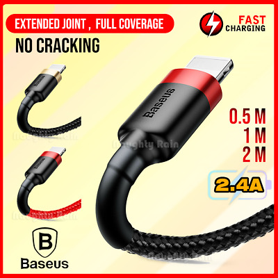 AU10.49 • Buy Baseus USB Charging Charger Cable For Apple IPhone X 8 7 6 XR 11 12 Mini XS Max