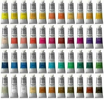 Winsor & Newton Griffin Alkyd Fast Drying Oil Paint 37ml - Buy 5 Get 1 Free • 4.99£