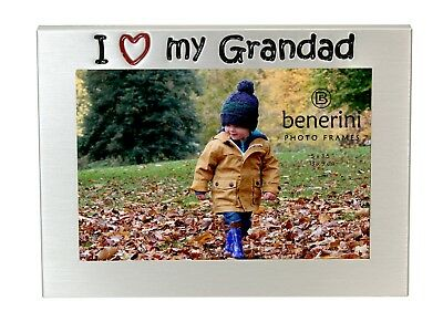£5.50 • Buy I Love My Grandad Photo Picture Frame Fathers Day Birthdays Christmas Gift Idea