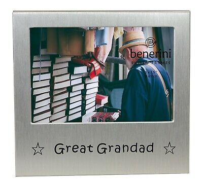 Great Grandad Photo Picture Frame Fathers Day Birthday Christmas Grandpa Gifts • 5.90£