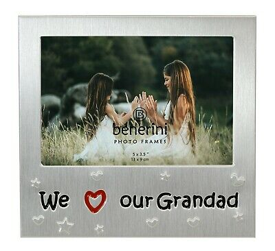 £5.50 • Buy We Love Our Grandad Photo Picture Frame Father's Day Birthdays Christmas Gift