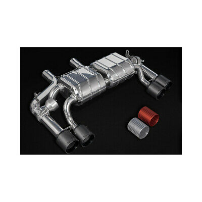 $4702.50 • Buy Capristo BMW M2 Competition F87 Valved Exhaust With Mid-Silencer Delete + CES3