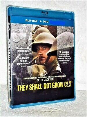 $24.99 • Buy They Shall Not Grow Old (Blu-ray/DVD, 2019, 2-Disc) NEW Military Peter Jackson