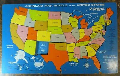 Wooden United States Puzzle ▷ 5.99$ | Dealsan