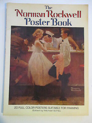 $ CDN15.56 • Buy The Norman Rockwell Poster Book 1976 20 Full Color Posters 10  X 12  Softcover