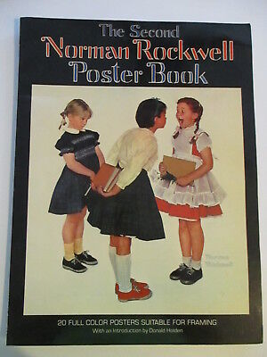 $ CDN15.56 • Buy THE SECOND NORMAN ROCKWELL POSTER BOOK 1977 Watson-Guptill