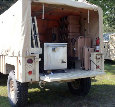 $199.95 • Buy New M1101 M1102 Trailer Bow Kit, Tan, Hmmwv M998  *bows Only* 12340748, 12340747