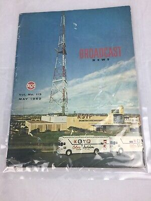$29.48 • Buy May 1962 RCA Broadcast News Magazine Quarterly KTSP Color Television Vol. # 113