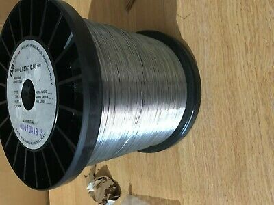 304 Stainless Wire  0.6mm Dia10 Metres Craft Wire Sculptures/tying/floristry • 3.50£