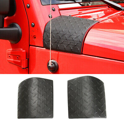 $13.43 • Buy Side Hood Body Armor Cowl Cover Trim For Jeep Wrangler JK 2007-2017 Accessories