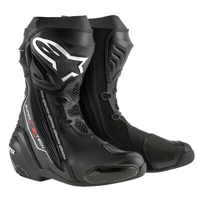 £299.49 • Buy Alpinestars Supertech R Boot Black (10 ) - Motorcycle Sports Racing Track Boots