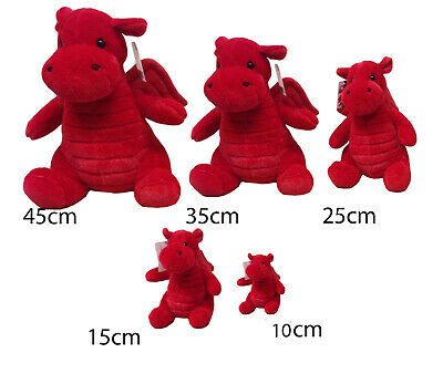 £4.49 • Buy New Souvenir Superb Quality Welsh Wales Supporter Plush Teddy Dragon Soft Toy