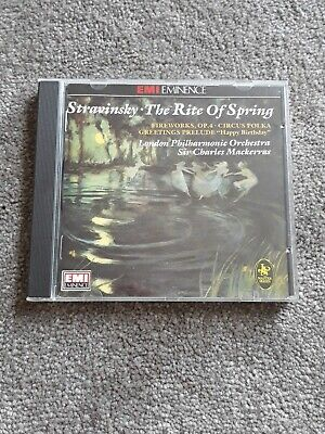 Stravinsky - The Rite Of Spring -  CD YFVG The Cheap Fast Free Post The Cheap • 2.99£