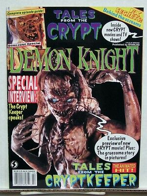 1995 Tales From The Crypt DEMON KNIGHT Gorezone Special Magazine- UNREAD • 15.99$