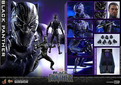 $ CDN469.95 • Buy Hot Toys Marvel BLACK PANTHER 1/6 Scale Figure 903380 MMS470 Boseman Led Light