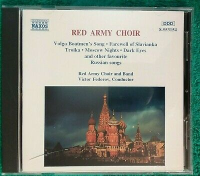 £5.30 • Buy Red Army Choir Russian Favourites CD 1996 Naxos (a21)