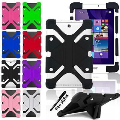 Shockproof Silicone Stand Cover Case For 7  8  10  Acer Iconia  One/Tab Tablet • 6.99£