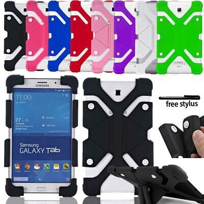 £6.99 • Buy Shockproof Silicone Stand Cover Case For Samsung Galaxy Tab 2/3/4 / Tab A / TabS
