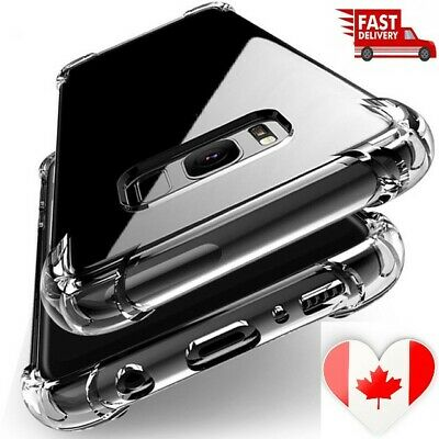 $ CDN0.99 • Buy Shockproof Clear Silicone For Samsung Galaxy A10 A30 A50 A70 Note 9 10 Plus Case