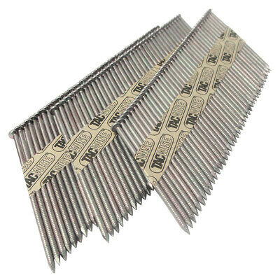Tacwise 34° Paper Collated D Head Strip Nails 50-90mm Extra Galvanised • 51.73£
