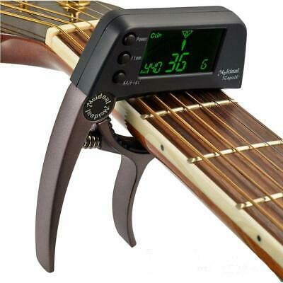 $ CDN31.52 • Buy Professional Guitar Tuner Electronic Tuner Combo Acoustic Guitar Capo Clip
