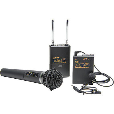 AU828.86 • Buy Pro A7 IV WLHM DC Wireless Lavalier + Handheld Mic For Sony A9 A7R IV III II A7S