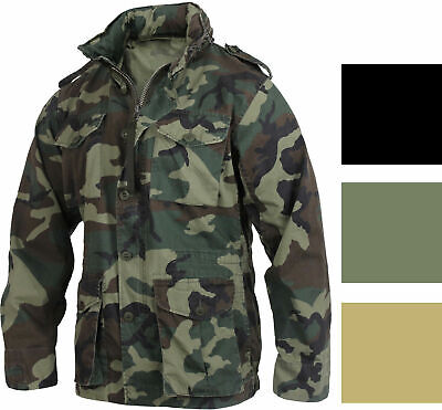 $68.99 • Buy Rothco Vintage Lightweight M-65 Field Jacket XS-2XL 3 Colors New