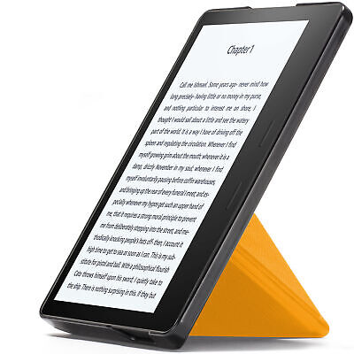AU20.88 • Buy Kindle Oasis 2019 Case Cover Origami Stand Slim Lightweight Yellow + Stylus