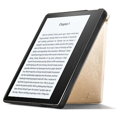 AU20.48 • Buy Kindle Oasis 2019 Case Smart Cover Origami Slim Lightweight Gold + Stylus
