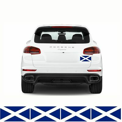 4 X SCOTLAND FLAGS STICKERS 150mm X 90mm Scottish Van Car Bumper Decals FLAG6C • 2.49£