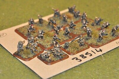 15mm WW2 / British - Paratroopers 27 Figures - Inf (38514) • 32£