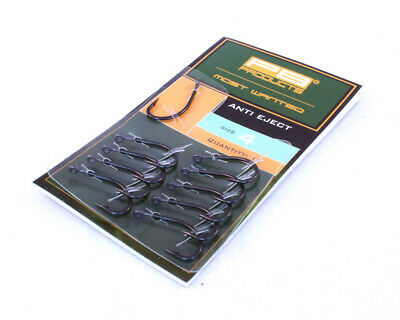 PB Products Anti Eject Hook DBF *All Sizes* NEW Carp Fishing Barbed Hooks • 5.69£