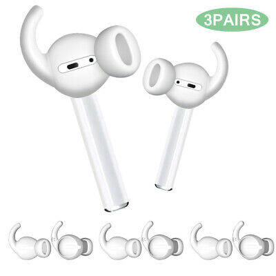 $ CDN6.06 • Buy For Apple AirPods Anti-Slip Silicone Ear Hooks Covers Featuring Bass Enhancement