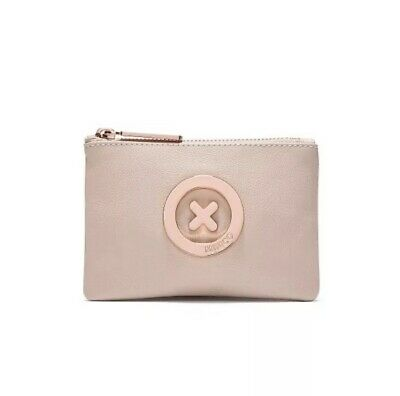 AU34.99 • Buy Mimco Supernatural Pancake Soft Leather Rose Gold Small Pouch Wallet • Authentic